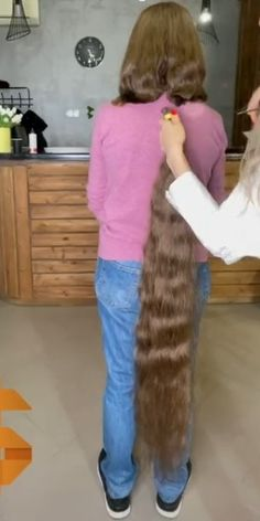 Long Hair Cuts, Long Hair Styles, Rapunzel Hair, Super Long Hair, Beautiful Long Hair, Hair Beauty, Board, Long Hair, Long Hairstyle