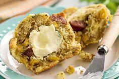 Sweet corn and kransky muffins – Recipes – Bite - Formerly Foodhub.co.nz