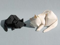 Dreaming Cats Origami by Dinh Truong Giang