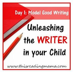 Great series! Step-by-step guide for teaching kids how to write. {This Reading Mama}