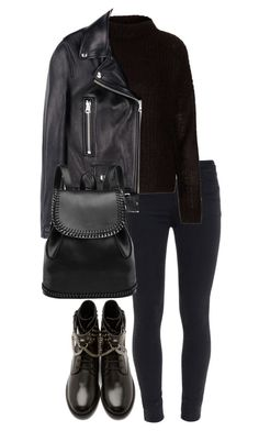 Untitled #2523 by elenaday on Polyvore featuring polyvore, fashion, style, Boutique, Acne Studios, Paige Denim and Yves Saint Laurent