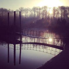 Frisse, zonnige ochtend op NetlPark