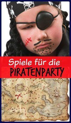Spielideen zum Kindergeburtstag Pirat mit Gratis Download der Spielanleitungen