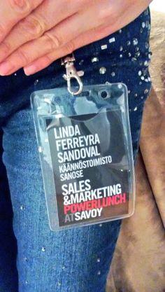 Sanose mukana Savoyssa järjestettävässä Sales & Marketing Powerlunch #savoy #sanose