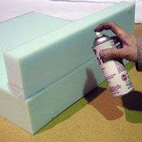 How To - crash pad for climbing wall in basement