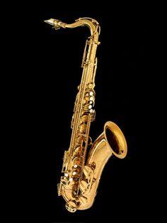 John Coltrane's Selmer Mark VI tenor saxophone, made in Paris about 1965