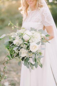 boho wedding bouquet - Tuscany wedding  - Laura Bravi Events