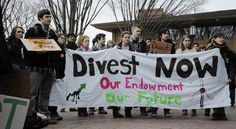 Fossil Fuel Divestment Student Protest at Tufts University