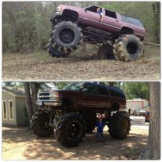 Mud truck.. how do i convince my parents to do this to our suburban? that would be amazing.