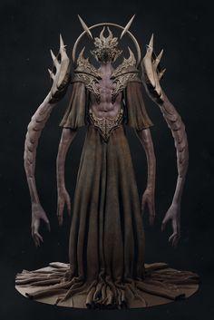 Necros, Pavee Keawmafai on ArtStation at https://www.artstation.com/artwork/wJZNw