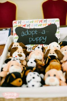 """Milo's """"Best in Show"""" Puppy Themed Party – Favors / Giveaways"""