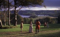 Barry Lyndon (1975) A great film where every scene looks like a painting. We used several pieces of the soundtrack for our wedding music.