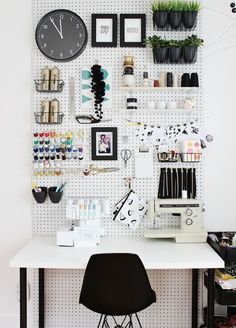 He Takes A Regular Pegboard And Paints It White. The End Result Is A Great Way To Expand Any Space [STORY] / facebook