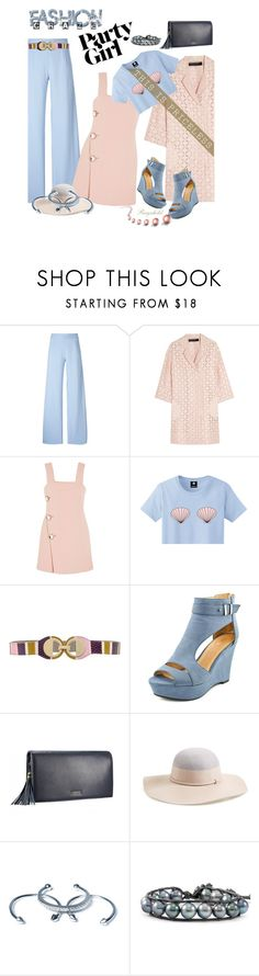 """""""Galentine's Day"""" by ragnh-mjos ❤ liked on Polyvore featuring Christopher Kane, Roland Mouret, Marni, Versace, Nordstrom, Luv Aj, Chan Luu, women's clothing, women and female"""