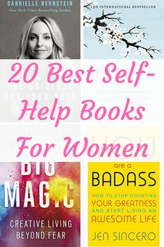 20 Best Self-Help Books For Women – Special Learning House 20 self-help books for women. These are the books that will help you be your happiest, most successful and best self! Best Self Help Books, Best Books To Read, Good Books, Self Love Books, Books To Read For Women, Books For Moms, Books To Read In Your 20s, Books For Self Improvement, Life Changing Books