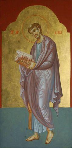 Heilige Lukas (Maria Curticapean-Mirea)