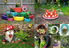 Tyre Planter