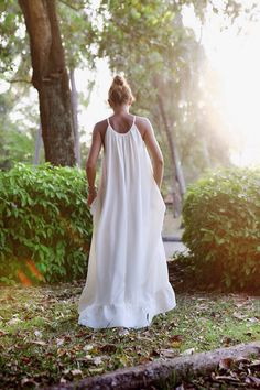 Summer beach white dress// Длинное белое пляжное платье