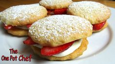 Spoil someone you love with these gorgeous and dainty Strawberry Shortcakes! Watch the recipe video here: http://youtu.be/dboI_CeO5Vw