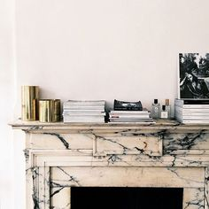 the well-appointed mantel / @sfgirlbybay