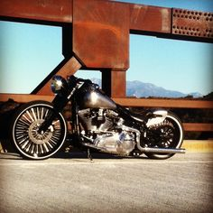 Lets see those Softail Bobbers - Harley Davidson Forums Softail Bobber, Bobber Bikes, Harley Bobber, Harley Softail, Harley Bikes, Bobber Motorcycle, Bobber Chopper, Cool Motorcycles, Honda Bobber