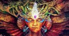How Shamans Dream the World into Being - Many Indigenous cultures see life as a dream. Can viewing the world through the eyes of a Shaman unlock new powers of Dreaming in us? Pablo Amaringo, Spiritual Leadership, Spiritual Healer, Spirit World, Samana, Spirit Guides, Archetypes, Magick, Wiccan Spells