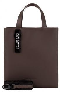 Liebeskind Paper Bag Tote S dark brown Kurzgrifftasche - Bags & more