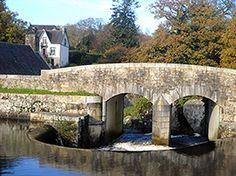 Huelgoat, village touristique du Finistère