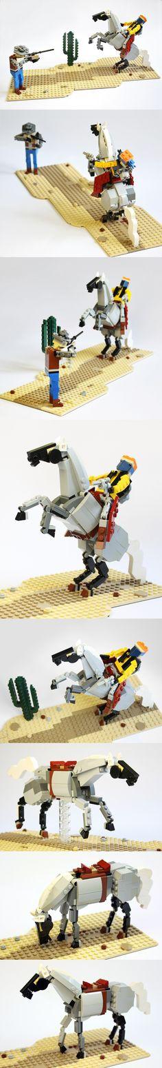 Amazing Lego Western.