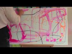 VIDEO > Mette Lindberg painting process