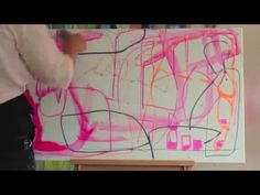 Maleri Mette Lindberg del 1 - YouTube