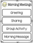 Starting Your Day Off on the Right Track (freebie) Morning Meeting setup; also includes partner cards! A great way to chose partners for the day/week. Morning Meeting First Grade, Morning Meeting Board, Morning Meeting Greetings, Morning Meeting Activities, First Week Activities, Morning Meetings, Morning Work, Morning Message Kindergarten, Kindergarten First Week