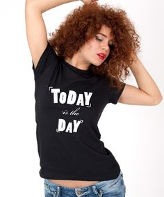 Tricou dama Today is the day Puff And Pass, Mixed Emotions, T Shirts For Women, Day, Smoking, Tops, Fashion, Moda, La Mode