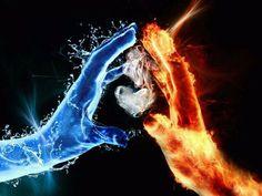 Fire and Ice  **We Offer Custom Picture #Framing, #ArtRestoration & #Art Gallery! Tweet Us: www.twitter.com/AFrameOfArt, us on FB: www.facebook.com/AFrameofArt Our Home: www.AFrameofArt.com