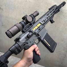 308 Magazine Showdown - Whats The Best Option? Ar Pistol Build, Ar Build, Ar15 Pistol, Weapons Guns, Guns And Ammo, Military Weapons, Custom Ar15, Custom Guns, Ar 10 Rifle
