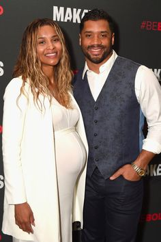 Ciara Shows Off Her Growing Baby Bump During an Event With Russell Wilson