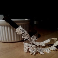 DIY Lace Headband! Get a stretchy head band and cut a 4 inch strip. Then cut a strip of lace (depending on your head size). Then glue them together! So easy & so cute!