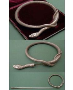 NEED!!  Silver steel flexible double bladed snake  rapier made c 1846 in Toledo Spain  by sugarviolette