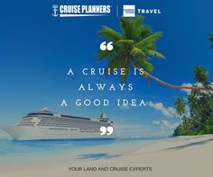 Need a relaxing vacation? Contact us to let us help you plan your dream cruise or l