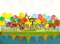 Animals on Parade ~ Birthday Breakfast  I love this !!!!