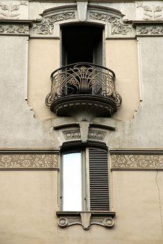 Art Nouveau (Turin, Italy) #liberty #torino