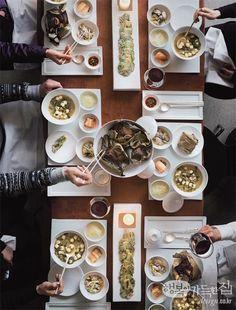 행복이 가득한 집_ 2014 <행복> 캠페인_ 집밥, 함께 먹기 저녁 7시, 집밥 풍경