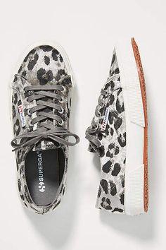 28c1040e9176 Superga Cheetah-Printed Velvet Sneakers