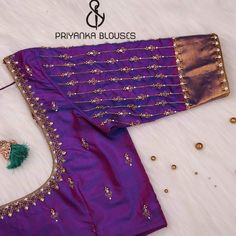 Blouse Designs High Neck, Patch Work Blouse Designs, Kids Blouse Designs, Hand Work Blouse Design, Simple Blouse Designs, Fancy Blouse Designs, Wedding Saree Blouse Designs, Pattu Saree Blouse Designs, Traditional Blouse Designs