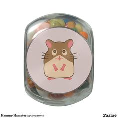 Choose from a variety of Cute candy jars or design your own! Cute candy jars from Zazzle. Shop now for custom candy jars & more! Owl Cartoon, Cute Cartoon Animals, Cute Animals, Custom Candy, Jelly Belly, Candy Jars, Animal Design, Design Your Own, Glass Jars
