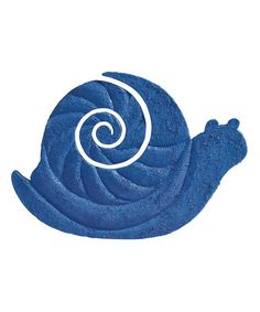 Look what I found on #zulily! Blue Snail Stepping Stone #zulilyfinds