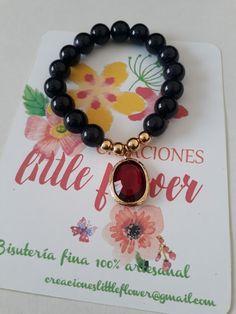 5e5b4a2d5600 Pulsera de Creaciones Little Flower. Bisutería fina 100% artesanal.