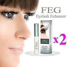 015bf970e82 2 pieces of most powerful eyelash growth Serum Natural. Promote rapid growth  of eyelashes by FEG Eyelash Enhancer