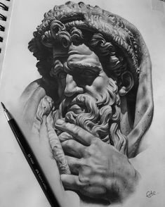 Drawings of zeus pencil portrait tattoo portrait portrait sketches drawing sketches anatomy art dr seuss drawings for sale Portrait Sketches, Pencil Portrait, Tattoo Sketches, Drawing Sketches, Pencil Drawings, Tattoo Portrait, Drawing Ideas, Art Drawings, Academic Drawing