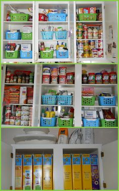 Crafty Mommy Diva: Project Organization 2013 - Bathroom Drawers and Kitchen Cabinets #organization #home
